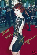 Tuppence Middleton Film Actress Hand Signed Photograph 7 x 5