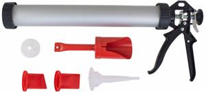 Heavy Duty Pointing Grouting Sausage Mortar Gun Paving Cement Caulking Set H2175