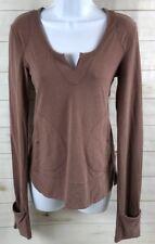 Adidas Women's Stella McCartney Sample Shirt Brown Size 36 Euc A3008