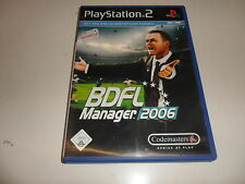 PlayStation 2  PS 2  BDFL Manager 2006