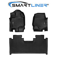 SMARTLINER SMARTCOVERAGE Floor Mats for F-150 SuperCab With Front Bench Seat