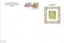 Sobre Entero Postal Edifil # 5 EXFILNA 86 Mezquita de Cordoba