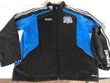 New listing Adidas San Jose Earthquakes MLS Soccer Football Warmup Jacket Top Mens Large