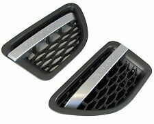 Silver+grey side vents for Range Rover sport 05-09 AUTOBIOGRAPHY 2010 style pair