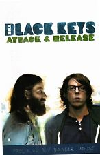 BLACK KEYS Attack & Release promotional double sided poster