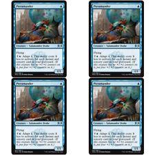 4 x PTERAMANDER NM mtg Ravnica Allegiance Blue - Salamander Drake Unc