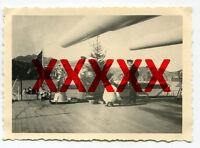 PANZERSCHIFF ADMIRAL GRAF SPEE - orig. Foto, Weihnachten in Afrika, 1936
