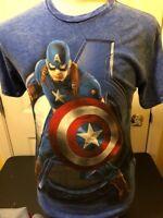 Marvel Avengers Captain America Adult Men's T-Shirt Medium M NWOT