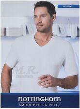 Maglia intima T-Shirt caldo cotone interlock felpato 3 Pz. nottingham