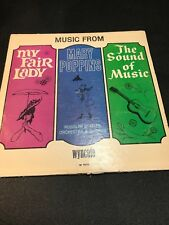 WYNCOTE RECORDS - MEDLEY OF SOUND OF MUSIC, MARY POPPINS, MY FAIR LADY - LISTEN!