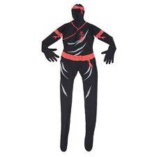 MORPHSUITS Halloween Costume NINJA Karate Assassin Cosplay size Medium - 3011