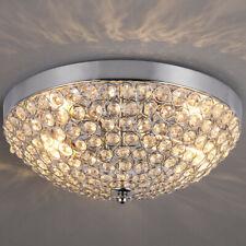 Crystal Ceiling Light Chandelier Pendant Lighting Fixture Lamp Home Decor 11.8