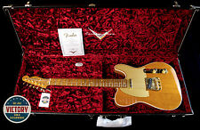 Factory New Fender Custom Shop Artisan Figured Mahogany Telecaster Natural