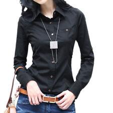 Damenblusen, - tops & -shirts aus Baumwollmischung mit Kombimanschette 36 Größe