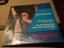 "Steve Walsh-Spanish 12"" Maxi Spain I found Loving - 80's Electro SEALED"