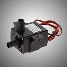Brand New Genuine DC Water pump 240L/H 12V Mini Ultra Quiet Black Pump 4L