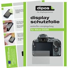6x Dipos Nikon d5300 Protector Matte Screen Protector Anti-Reflection Test Winner