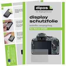 6x dipos Nikon D5300 Film de protection d'écran protecteur antireflet