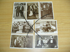 FOURTEEN RED LETTER PHOTOCARDS - CHARLIE CHAPLIN -