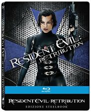 5053083107055 Sony Pictures Blu-ray Resident Evil - Retribution (ltd Steelbook)
