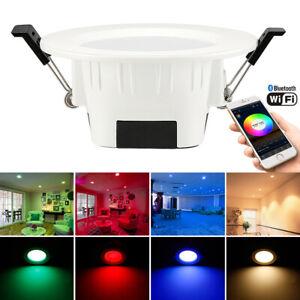 RGB+WW+CW LED Spotlights Ceiling Panel Lamp Down Light WIFI/Bluetooth Mesh IP20