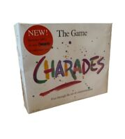The Game Of Charades Age 12 + Hanson Game Full Instructions Great Fun NEW SEALED