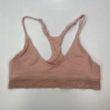Lululemon Ever Essentials Pink Bralette Size M Unlined Racerback