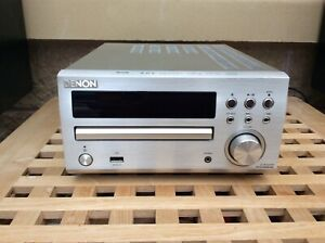Denon RCD-M39DAB Micro Component CD Receiver System and speakers