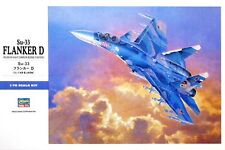 SUKHOI Su-33 FLANKER D (RUSSIAN AF/NAVY MARKINGS)#1565 1/72 HASEGAWA