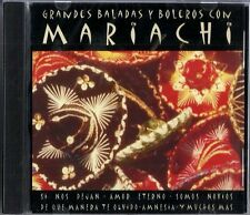 Grandes Baladas Y Boleros Con Mariachi  Latin Music CD New