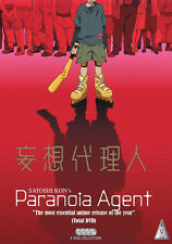 Paranoia Agent . The Complete Series Collection . Anime . 4 DVD . NEU