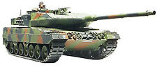 Tamiya 1/35 Leopard 2 A6 Main Battle Tank Plastic Assembly Kit 35271