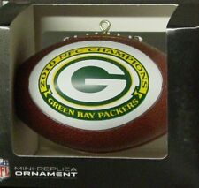 NFL Football Ornament, Green Bay Packers, (2010 NFC Champions)