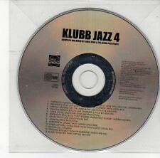 (DS914) Klubb Jazz 4, 13 tracks various artists - 2002 DJ CD