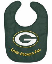Green Bay Packers All-Pro Baby Bib [NEW] NFL Infant Newborn Polyester Terrycloth