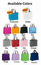 8 Personalized wedding bridal party tote bag Bridesmaid maid of honor gift 8 bag
