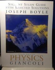 Physics Giancoli Sixth Edition Study Guide V2 ISBN: 9780131465572