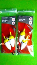 Lot Of 2 New In Pack South Bend Weighted Pole float Bobber 7 In Catfish Bass