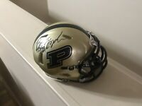 Brycen Hopkins Signed Autographed Football Mini Helmet Purdue Boilermakers COA