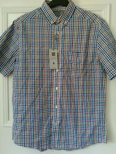 Marks and spencers mens sort sleeved shirt size small chest size 36-38