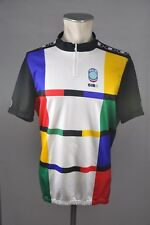 SEB Giro vintage 80s / 90s jersey cycling jersey Bike Rad Trikot Gr XL 58cm Q1