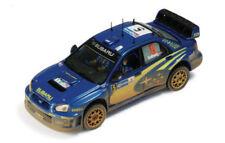 Voitures de rallye miniatures pour Subaru