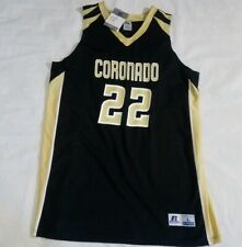S1 Russell Athletic Coronado basketball jersey mens large