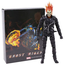 Marvel Ghost Rider Johnny Blaze PVC Action Figure Collectible Model Toy