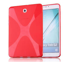 X-Line Soft TPU Gel Protective Case Cover Skin For Samsung Galaxy Tab S2 8.0 9.7