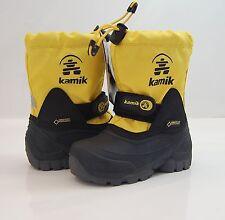 KAMIK Kinder Boots Gr. 10  / 27 Stiefel WATERBUG 5G -40°C GoreTex lemon