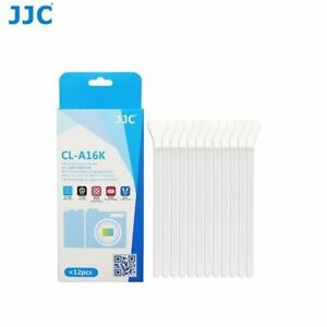 JJC CL-A16K 12X APS-C Frame Sensor cleaner Swab rod for Camera CCD CMOS