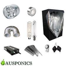 600W NANOLUX BALLAST/HPS+MH/Reflector/Ducting/Fan/Tent (1x1x2M) Kit