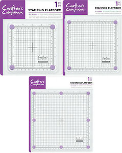 """Crafter's Companion - Stamping Platform 4"""" x 4"""" Grid or 6"""" x 6"""" or 8"""" x 8"""" Grid"""