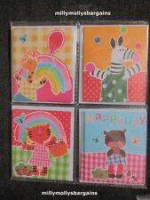 New Marks & Spencer Animal Small Blank Cards & Envelopes x 8 x 3 = 24 Packs